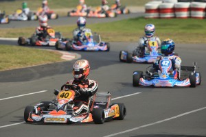 Joey Hanssen Leading the way at the CIK