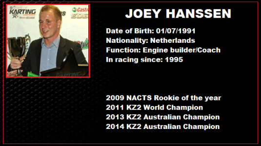 HRE Profile team Joey