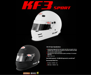 Bell advertentie KF3 sport